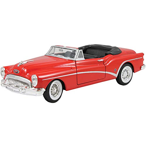 1953 Buick Skylark Convertible Red 1/24 Diecast Model Car by - 1953 Buick