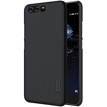 for Huawei P10 Case, Nillkin [with Screen Protector] Frosted Shield Matte Plastic Ultra Thin Slim Light Fit Case, Shockproof Shell Anti-Scratch ...