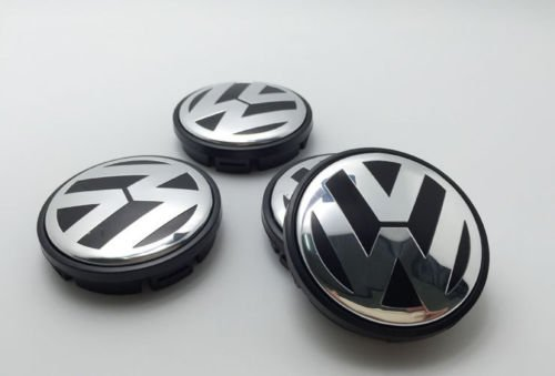 AOWIFT 4 pcs 65mm Wheel Center Cap Hub Cover for VW Volkswagen Golf GTI PASSAT JETTA by AOWIFT (Image #4)