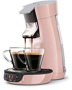 senseo viva cafe hd7829 30 pod coffee machine 0 9l 6cups pink coffee maker coffee makers. Black Bedroom Furniture Sets. Home Design Ideas