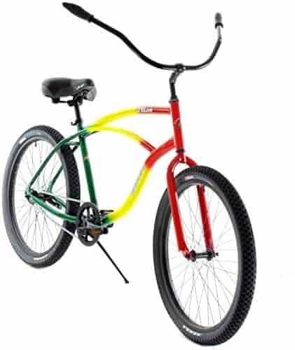 648dd0e7fff Quality Mango One Love Special Edition Aluminum Beach Custom Cruiser One Speed  Bicycle Bike