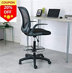 Drafting Chair with Black