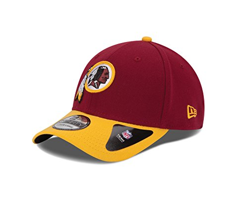 NFL Washington Redskins Team Classic 39THIRTY Stretch Fit Cap, Medium/Large, Red