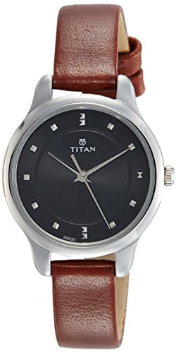 Titan Ladies NeoIi Analog Black Dial Women's Watch NM2481SL07 / NL2481SL07
