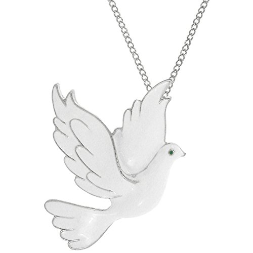 Peace And Dove Necklace - 9