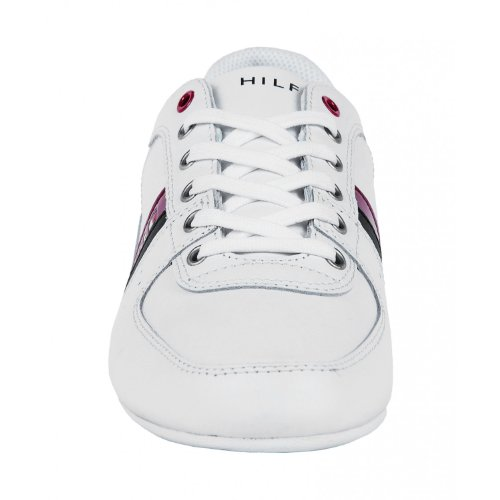 Tommy Hilfiger Ross Herren Sneaker Weiß