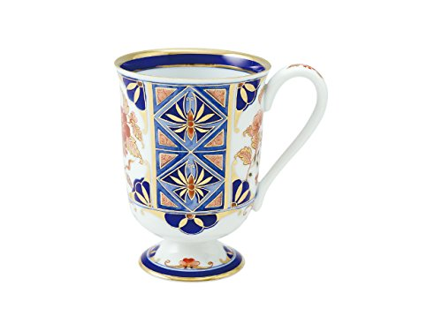 (Mug cup with fancy box Royal crown 45027050, Asian, Oriental, Japanese dish plates Traditional Collection/Yamashita Craft)