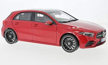 Amazon Com Mercedes A Class W177 Red 2018 Model Car Norev 1