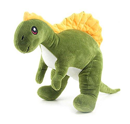 HugeHug Jurassic Dinosaur Plush Stuffed Toy for Kids 15 inches, for Boys Girls Birthday Gifts (Spinosaurus)]()
