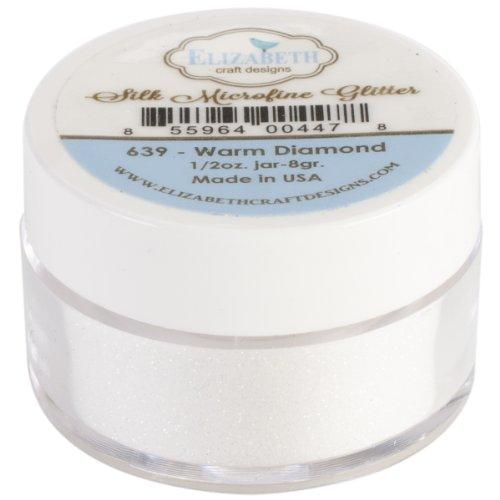 (Elizabeth Craft Designs Silk Microfine Glitter, 11-Gram, Warm Diamond )