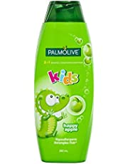 Palmolive Palmolive Kids 3 in 1 Hypoallergenic Shampoo, Conditioner & Bodywash Happy Apple 350mL, Apple, 350-ml, 350 ml
