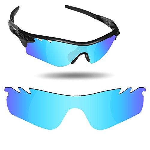 Fiskr Anti-Saltwater Replacement Lenses for Oakley RadarLock Path Vented Sunglasses - Various ()