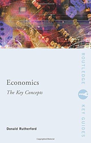 Economics: The Key Concepts (Routledge Key Guides): Amazon.es: Rutherford, Donald: Libros en idiomas extranjeros
