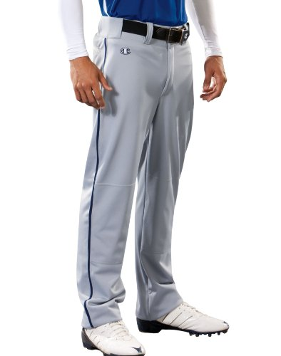Champion Mens and Youth Prospect Baseball Open Bottom Pant # BS65 Steel Grey sspGHEE0M