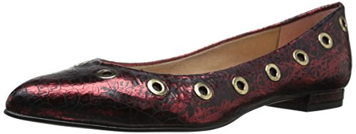 Burgundy Women's Sole French NY FS wqxScTP