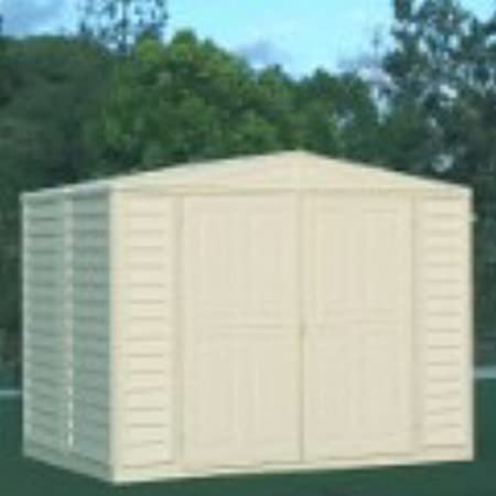 Amazon.com: Metal Structured DuraMate Shed (8 ft. L x 6 ft. W): Garden & Outdoor