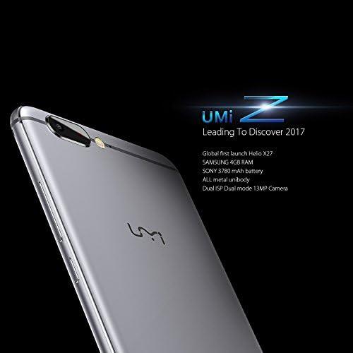 UMIDIGI Z Smartphone Libre Android (Pantalla 5.5 , 4G Doble SIM ...