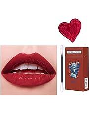Tattoo Lipstick - 20 Pcs/Box, 10 Kind Tattoo Lip Stick, Women New Hot Long Lasting Cigarette Lip Stain Makeup, Durable Waterproof Lip Tint Cotton Swab, Liquid Non-Stick Lip Gloss