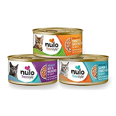 Cat Food Nulo Adult & Kitten Grain Free Canned Wet Cat Food [tag]