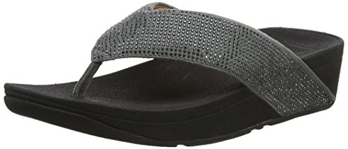 Ritzy Aperta Sandals Pewter Punta Fitflop Grey Thong Toe Donna Sandali Sd1WqPU