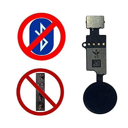 - ePartSolution_Replacement Part for JC Universal Home Button iPhone 7/7Plus iPhone 8/8Plus YF Universal Home Button Flex Cable Return Function 3rd USA (Black)
