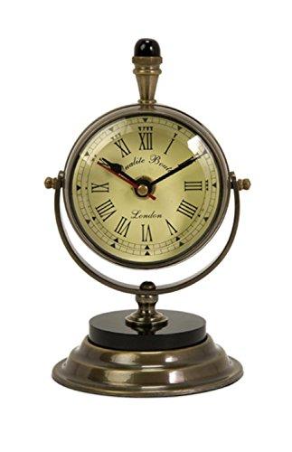 Brass Pedestal Clock - 3