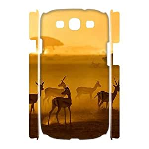 Antelope CUSTOM 3D Cell Phone Case for Samsung Galaxy S3 I9300 LMc-83779 at LaiMc