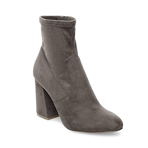 Expert Grey 6 Women's Bootie Steve Us Madden Dress 0 Eq4txqpwC