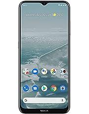Nokia G20 | Android 11 | Unlocked Smartphone | 3-Day Battery | Dual SIM | US Version | 4/128GB | 6.52-Inch Screen | 48MP Quad Camera | Glacier