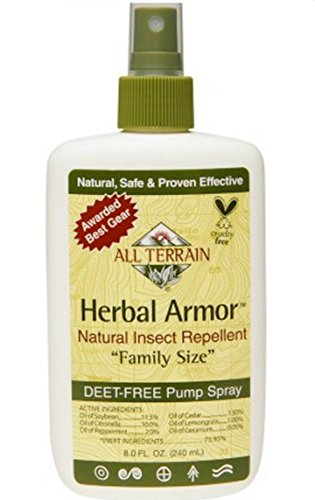 - All Terrain Herbal Armor Spry Fmly Sz 8 Fz, 2 pack