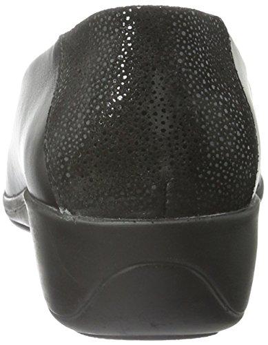Comfortabel 941951, Mocasines para Mujer Negro - negro