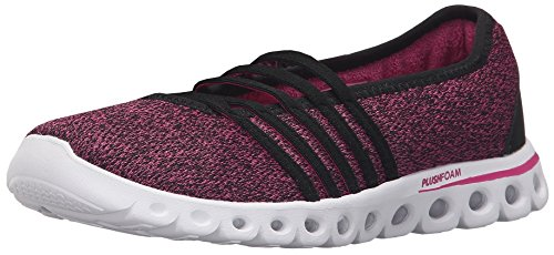 K-Swiss Women's X Lite MJ CMF Black/Very Berry Textile Sneaker 9 B (M)