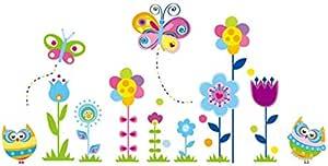Flower Baseboard Corner Line Waist Line 3D Wall Stickers Home Decoration