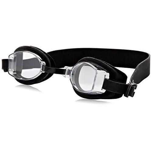 EXEZE Silicon Lunettes de Piscine noir - Bandeau 21mm de large lecteurs MP3 étanches