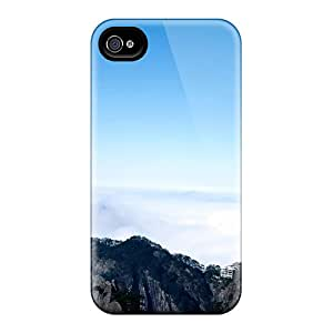 New Snap-on BeverlyVargo Skin Cases Covers Compatible With Iphone 6- Teeterin Rock On A Cliff In China