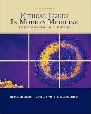 Ethical Issues In Modern Medicine (text only) 7th (Seventh) edition by B. Steinbock,A. J. London,J. Arras pdf epub