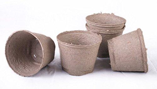 4 peat pots - 5