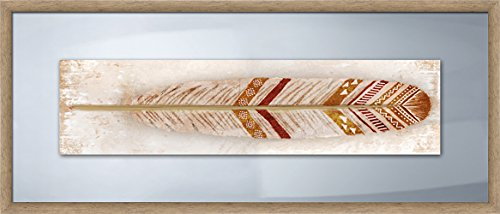 PTM Images 2-24343 Indian Feather, 21x9 Wall Art Indian