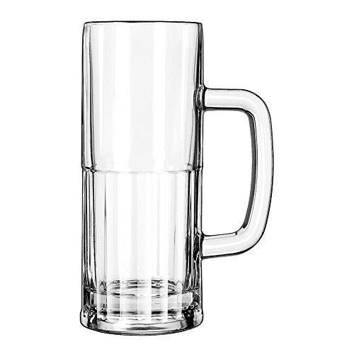 Libbey Glass Beer Mug, 22 Ounce - 12 per case ()