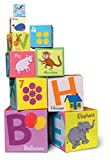 eeBoo Alphabet Building Blocks Toddler Tower