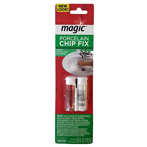 Magic Porcelain 2 Part Epoxy Chip Fix, White