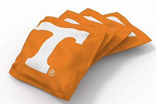 PROLINE 6x6 NCAA College Tennessee Volunteers Cornhole Bean Bags - Solid Design (Tennessee Volunteers Ncaa Design)