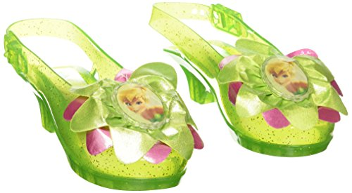 [Disguise Disney Fairies Tinker Bell Sparkle Shoes] (Tinkerbell Fairy Costumes For Women)