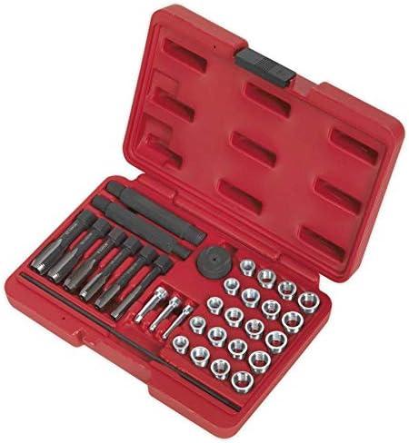 VS311.02 Sealey M10 x Inserts de rechange 1.0mm pour VS311 Pack de 5
