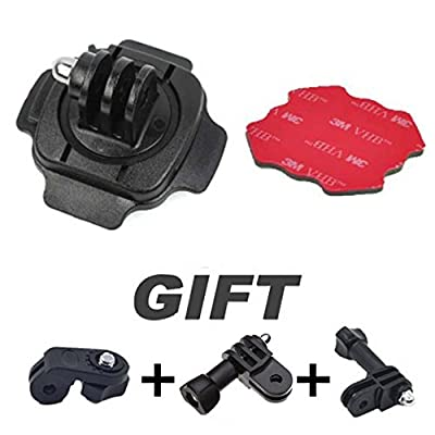 Sports 360 Degree Helmet Head Mount Adjust Adapter For Sport Camera