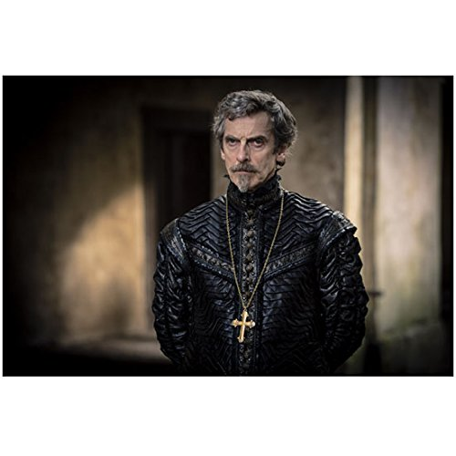 The Musketeers (TV Series 2014 - ) (8 inch by 10 inch) PHOTOGRAPH Peter Capaldi Gold Crucifix Around Neck Hands Behind Back kn