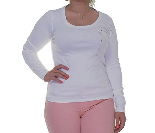 Women's Cotton Long Sleeve Basic Tee Shirt