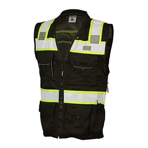ML Kishigo - Black Heavy Duty Safety Vest Size: 3X-large by ML Kishigo (Image #3)
