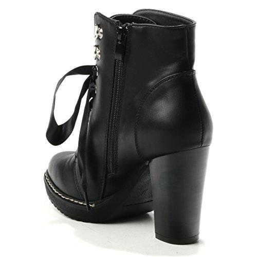 HERIXO Women's Boots Black 59GUAGrt