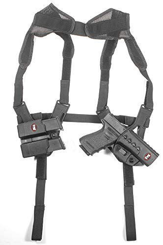 Fobus SHR2 Shoulder Harness Only, Ambidextrous (Double) for Roto Holsters and Pouches